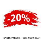 "brushstroke ""20  off"" red set... 
