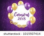 carnival brochure template for... | Shutterstock .eps vector #1015507414