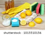 eco friendly natural cleaners.... | Shutterstock . vector #1015510156