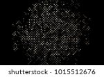 dark black vector blurry... | Shutterstock .eps vector #1015512676