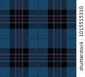 blue and black tartan plaid... | Shutterstock .eps vector #1015515310