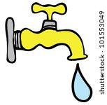 faucet   Shutterstock .eps vector #101553049