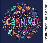 bright multicolor vector...   Shutterstock .eps vector #1015556584
