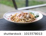 Turkish Manti On Plate With...