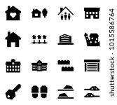origami style icon set   family ... | Shutterstock .eps vector #1015586764