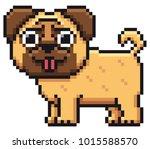 vector illustration of cartoon...   Shutterstock .eps vector #1015588570