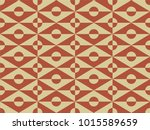 seamless geometric pattern with ... | Shutterstock .eps vector #1015589659
