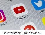 sankt petersburg  russia ... | Shutterstock . vector #1015593460