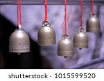 the bell hangs the rope. | Shutterstock . vector #1015599520