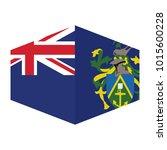 flag of pitcairn islands vector ... | Shutterstock .eps vector #1015600228