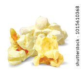 tasty popcorn. elements for... | Shutterstock .eps vector #1015610368