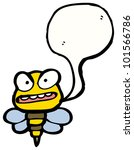 cartoon angry wasp | Shutterstock . vector #101566786