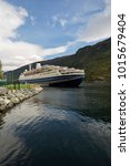 Small photo of Cruise Ship in the Port of Flam, Norway