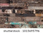 wood material background for... | Shutterstock . vector #1015695796