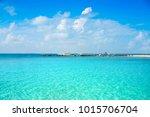 isla mujeres island caribbean... | Shutterstock . vector #1015706704