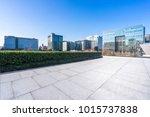 empty marble floor with... | Shutterstock . vector #1015737838