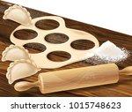 vector realistic concept...   Shutterstock .eps vector #1015748623
