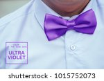 groom in a white shirt and a... | Shutterstock . vector #1015752073