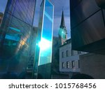 vaduz  liechtenstein   january... | Shutterstock . vector #1015768456