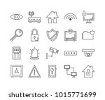 security  protect and... | Shutterstock .eps vector #1015771699