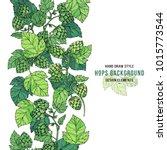 beer hop banner design.... | Shutterstock .eps vector #1015773544