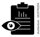 glyph icon  job evaluation ... | Shutterstock .eps vector #1015790254