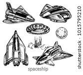hand drawn sketch illustration... | Shutterstock .eps vector #1015795210