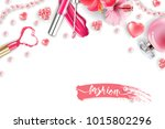 cosmetics and fashion... | Shutterstock .eps vector #1015802296