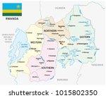 rwanda administrative and... | Shutterstock .eps vector #1015802350