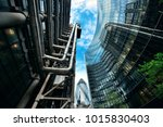 london  uk   sep 27  financial... | Shutterstock . vector #1015830403