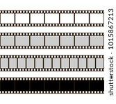 film strip set. collection of... | Shutterstock . vector #1015867213