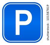 parking sign | Shutterstock . vector #101587819