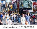 new york city  usa   october 28 ... | Shutterstock . vector #1015887220