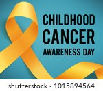 realistic gold ribbon ... | Shutterstock .eps vector #1015894564