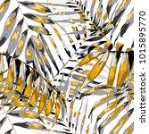 watercolor seamless pattern... | Shutterstock .eps vector #1015895770