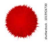 colorful vector cartoon fluffy...   Shutterstock .eps vector #1015926730