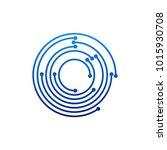 circular logo icon. link icon...