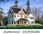 patterson house on the grounds... | Shutterstock . vector #1015936288