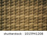 woven rattan look smokey brown... | Shutterstock . vector #1015941208