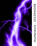 lightning background electric | Shutterstock . vector #1015944358