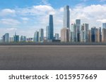 guangzhou city square road and... | Shutterstock . vector #1015957669