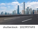 guangzhou city square road and... | Shutterstock . vector #1015957693