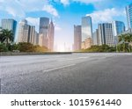 guangzhou city square road and... | Shutterstock . vector #1015961440