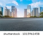guangzhou city square road and... | Shutterstock . vector #1015961458