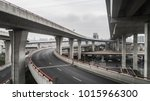 aerial view of highway and... | Shutterstock . vector #1015966300