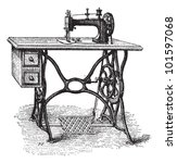 Foot Powered Sewing Machine ...