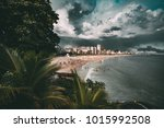 wide angle shooting of stunning ... | Shutterstock . vector #1015992508