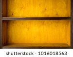 empty vintage shelves | Shutterstock . vector #1016018563
