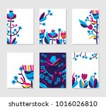 collection of bright colored... | Shutterstock .eps vector #1016026810