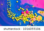 colorful paint background in... | Shutterstock . vector #1016055106